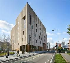 Find out how EH Smith Architectural Products provided the ideal solution for Birmingham Conservatoire through supplying bespoke clay, brick & cladding solutions. Architecture Today, English Architecture, Birmingham City University, Brick Cladding, Glazed Brick, Building Materials, Multi Story Building, Tower, Facades