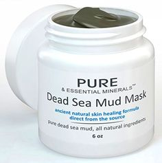 BEST Dead Sea Mud Facial Mask  - Cleansing Acne  Pore Reducing Top Quality Mud