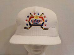 Molson Canadian Hockey Vintage Snapback Baseball Truckers Hat Cap #Victory #BaseballCap