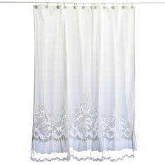 Pom At Home Shower Curtain Caprice Grayce