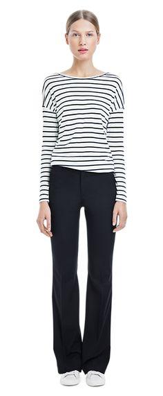 Jersey Stripe Top - Tops - Woman - Filippa K