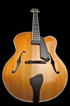 """18"""" Archtop Guitar by Robert Carbonaro OF CARBONARO GUITARS • SANTA BARBARA, CA"""