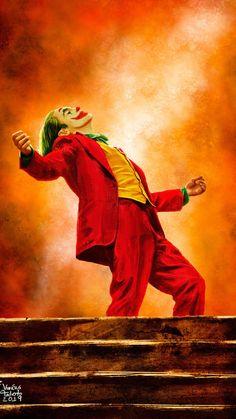 Joker Joaquin Phoenix Wallpaper ID # 43490 auf Superhelden Wallpapers stock Wal . Joker Cartoon, Joker Comic, Le Joker Batman, Batman Joker Wallpaper, Joker Iphone Wallpaper, Joker Film, Joker Wallpapers, Animes Wallpapers, Joker And Harley Quinn