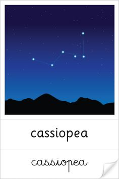 cartes de nomenclature des constellation