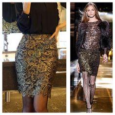 ☆SALE!☆ ☆HOST PICK☆ Gold Tone Crochet Skirt Gold Tone Crochet Skirt. Elastic Waist. Large but may best fit Small & Medium. New. Skirts