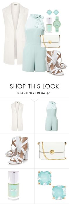 """Spear mint"" by paulaj87 ❤ liked on Polyvore featuring WearAll, Miss Selfridge, Miss KG, Tory Burch, Kate Spade and Nine West"