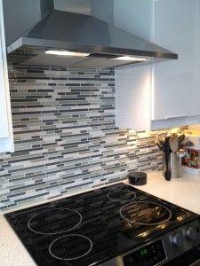 Backsplash tile from Home Depot!