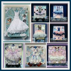 Linda Walsh Originals Dolls and Crafts Blog: My Twin Granddaughter's Mixed Media Tutu Dress Picture Gifts