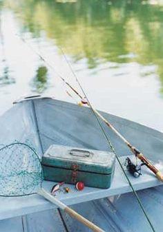 Gone fishing. Lake House Living.
