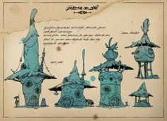 ArtStation - Desert Dwellers Houses and Creatures, Charlène Le Scanff (AKA Catell-Ruz)