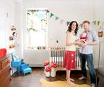 Project Nursery: Cool and Crafty Decorating Ideas: A DIY Duo (via Parents.com)