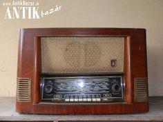 Antik Bazár Sk | Historický rádioprijímač - Predaj Toaster, Oven, Kitchen Appliances, Diy Kitchen Appliances, Home Appliances, Toasters, Ovens, Kitchen Gadgets, Sandwich Toaster