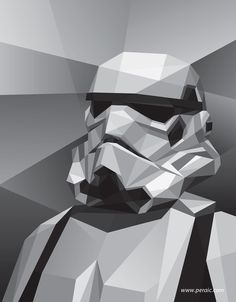 Stormtrooper Illustration by Filip Peraić
