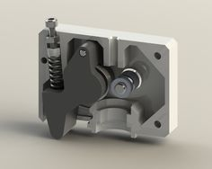 UPDATE 1: Updated to support the original QU-BD Anubis hotend.   I have been using ddegonge888's extruder design (http://www.thingiverse.com/thing:296670) on my OneUp for a while, and I can't say enough good things about it. I've been considering making the switch to the MK8 drive gear, and so I modified his design to work with the MK8. The MK8 itself has a much smaller drive diameter, and so I had to make quite a few changes to the extruder design itself.    It als...