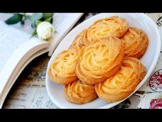 Melt In Your Mouth Butter Cookies | Pastisetas Recipe | Copycat Danish B...