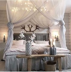 Creative And Simple DIY Bedroom Canopy Ideas18 - fancydecors