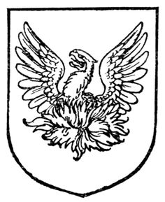 Fig. 460.—Phœnix. Date	1909 Source	A Complete Guide to Heraldry. Author	  Arthur Charles Fox-Davies oktouse