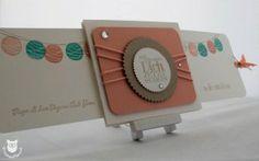 Stampin' Up! Ziehkarte - Double Slider Card