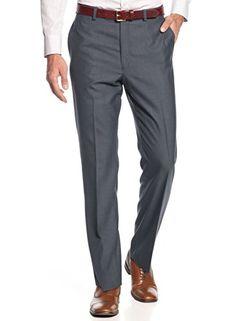 Calvin Klein Men`s Solid Charcoal Flat Front Dress Pants (30W x 34L) Calvin Klein http://www.amazon.com/dp/B00P043HCO/ref=cm_sw_r_pi_dp_Isgkvb15C439X