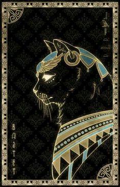 Bastet- The sun, cats, happiness, pleasure Bastet Goddess, Egyptian Cat Goddess, Egyptian Cats, Egyptian Mythology, Goddess Art, Egyptian Cat Tattoos, Ancient Egypt Art, Ancient Aliens, Ancient Artifacts