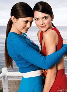 Kendall and Kylie in 'Glamour' | Kourtney Kardashian