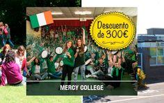 Curso de inglés en Mercy College con 300€ de dto. en Irlanda