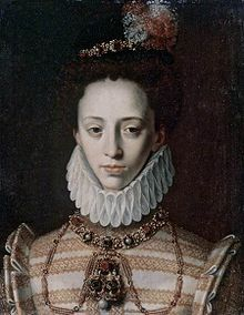 Johanna of Austria, Granddaughter of Juana of Castile, Great Niece of Catherine of Aragon,Johanna of Austria (24 January 1547 – 11 April 1578), was the youngest daughter of Ferdinand I, Holy Roman Emperor and Anna of Bohemia and Hungary. By marriage, she was a Grand Duchess of Tuscany; one of her daughters was the famous Marie de Medici, Queen-consort and second wife of King Henri IV of France.