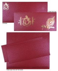10 Examples of Wonderfully Designed Wedding Invitations : Wedding is a kind of festival which not only binds 2 souls for the remainder of life however additionally blends 2 completely different families of various cultures and ideologies. Hindu Wedding Cards, Tamil Wedding, Wedding Card Design, Wedding Invitation Design, Got Married, Getting Married, Envelope Art, Invitation Cards, Families