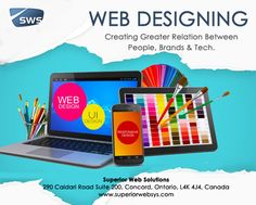 Web Design Solutions Toronto : Superior Web Solutions ::   Web design Toronto - Digital marketing agency and web design agency. We offer website design, eCommerce web design and digital marketing services. We are passionate about creating amazing user experiences. Call us at 905.532.9642