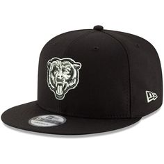 3b47cee32a8 Chicago Bears New Era B-Dub 9FIFTY Adjustable Hat – Black