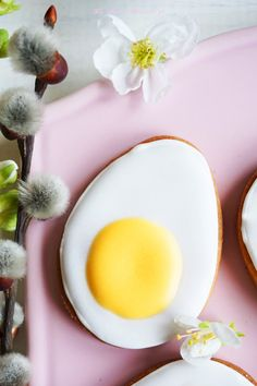 """Eggs"" - the lemon cookies for Easter Lemon Cookies, Easter Recipes, Easter Food, Happy Spring, Happy Easter, Eggs, Sweets, Baking, Breakfast"