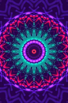 "chichiliki: "" More Mandalas HERE Etsy Shop (Mandala Art Tapestry) Shop (Mandala prints, tshirts, iphone/android cases, and more! Mandala Art, Mandalas Painting, Mandalas Drawing, Mandala Pattern, Mandala Tapestry, Mandala Wallpaper, More Wallpaper, Pattern Wallpaper, Neon Backgrounds"