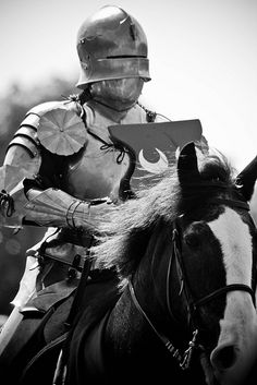 Knight on his War Horse