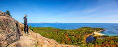 Essential Weekend Guide to Acadia National Park and Bar Harbor Maine » Carry-On Traveler Acadia National Park, National Parks, Bar Harbor Maine, Water, Travel, Outdoor, Gripe Water, Outdoors, Viajes