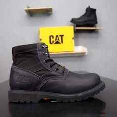 CAT 715698-1 Casual Leather Shoes, Purchase Order, Wholesale Shoes, All Black Sneakers, Cats, Design, Fashion, Moda, Gatos