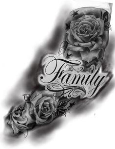 Half Sleeve Tattoo Stencils, Half Sleeve Tattoos Drawings, Half Sleeve Tattoos For Guys, Half Sleeve Tattoos Designs, Tiger Tattoo Sleeve, Forearm Sleeve Tattoos, Best Sleeve Tattoos, Skull Rose Tattoos, Rose Tattoos For Men