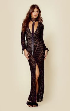 For Love And Lemons Clothing J'adore Maxi Dress