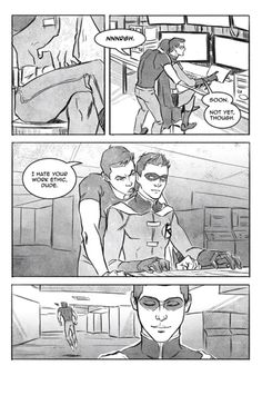ANTE: A gratuitous Tim/Kon fancomic. Adapted from a story by Te (http://teland.com/ante.html) • Art by urdchama (http://urdchama.tumblr.com/ante/)