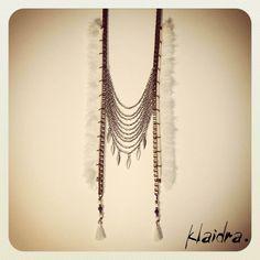 #klaidra #fw15 #newdesigns #designers #jewelry #handmade #bohemian #ethnic #gypsy #fashion #beaded #necklace #greekdesigners #klaidrajewelry