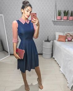 Swans Style is the top online fashion store for women. Shop sexy club dresses, jeans, shoes, bodysuits, skirts and more. Fashion Wear, Cute Fashion, Modest Fashion, Girl Fashion, Fashion Outfits, Business Casual Outfits, Classy Outfits, Fall Outfits, Modest Dresses