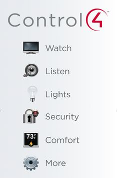 Control4 #homeautomation solutions enable full control of your home at your fingertips. Whether it's smart control of your #audio, #lighting, #climate, #security or #entertainment, we've got the solution you're looking for—with the ability to add more #technology as you see fit. Visit www.control4.com for more information on how to make your home a #smarthome.