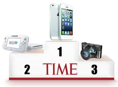 The iPhone 5, best gadget of the year by Time magazine. / #top10gadgets