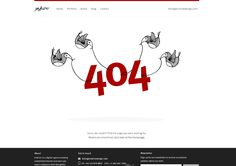 13 . 404 Error Page design at Erskinedesign
