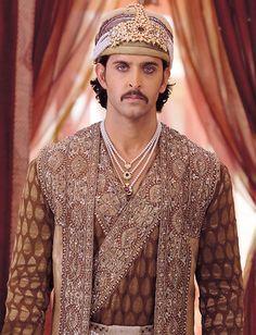 "arjuna-vallabha: "" Hrithik Roshan as emperor Akbar """