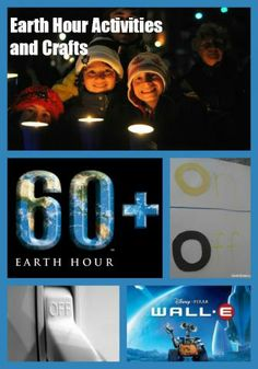 Earth Hour Ideas and Activities for Kids