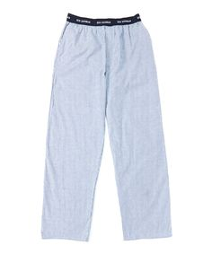 This Blue Pinstripe Lounge Pants by Ben Sherman is perfect! #zulilyfinds