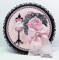 @Spellbinders Grand Decorative Circles and French Frills