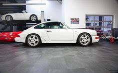 Porsche 964 Carrera RS in the workshop @ https://www.facebook.com/PannhorstClassics