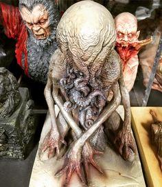 """Mi piace"": 3,091, commenti: 28 - Simon Lee (spiderzero) (@spiderzero) su Instagram: ""Cthulhu Spawn that I sculpted back in 2011. Discontinued #simonlee #spiderzero #sculpture…"""