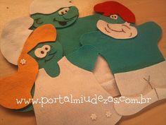 Fantoches Smurfs